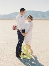 vegas dry lake beds wedding Gaby J Photography 109