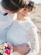 vegas dry lake beds wedding Gaby J Photography 147