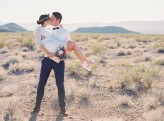 vegas dry lake beds wedding Gaby J Photography 150
