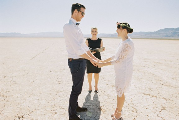 vegas dry lake beds wedding Gaby J Photography 35