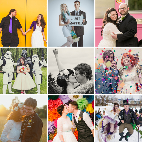 44 Jaw Dropping Weddings That Cost Under £5000 · Rock N