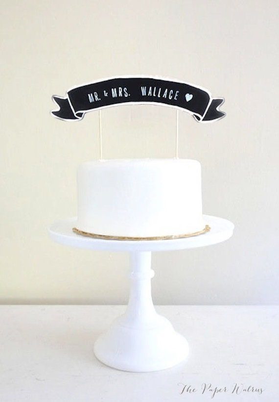 20 Amazing And Unique Wedding Cake Toppers 183 Rock N Roll Bride