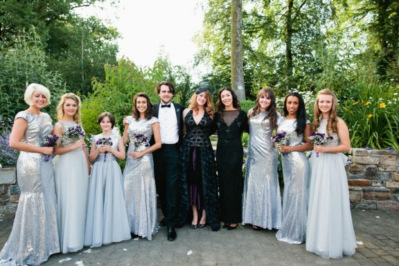 Midsummer Black Wedding Dress in Devon_Green Antlers Photography  31