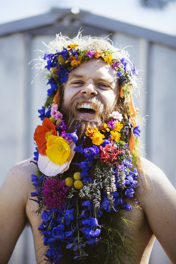 Tommy Franklin Flower Beard