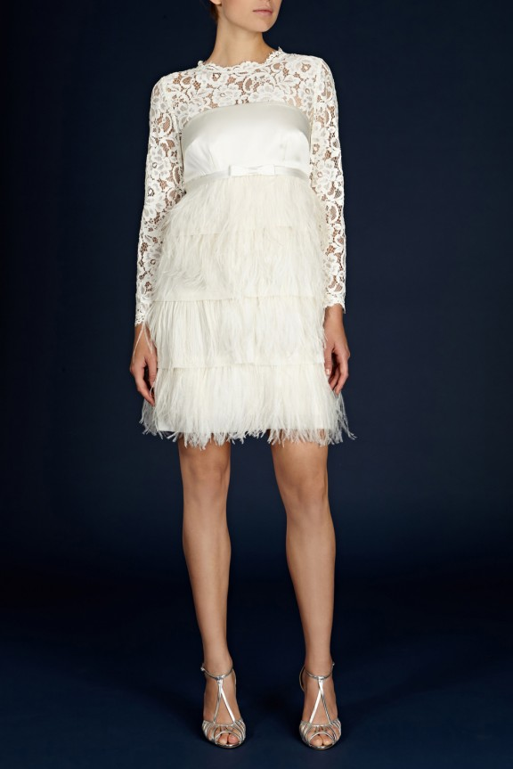 cherish feather dress coast