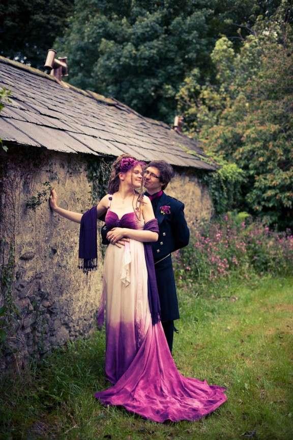 Tye Dye Wedding Dresses 25 Trend modern art alternative diy