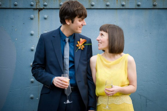 stylish london wedding#