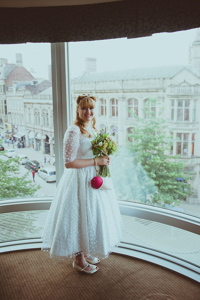 Creative and Colourful 1950s Inspired Wedding: Ryan & Connie · Rock ...