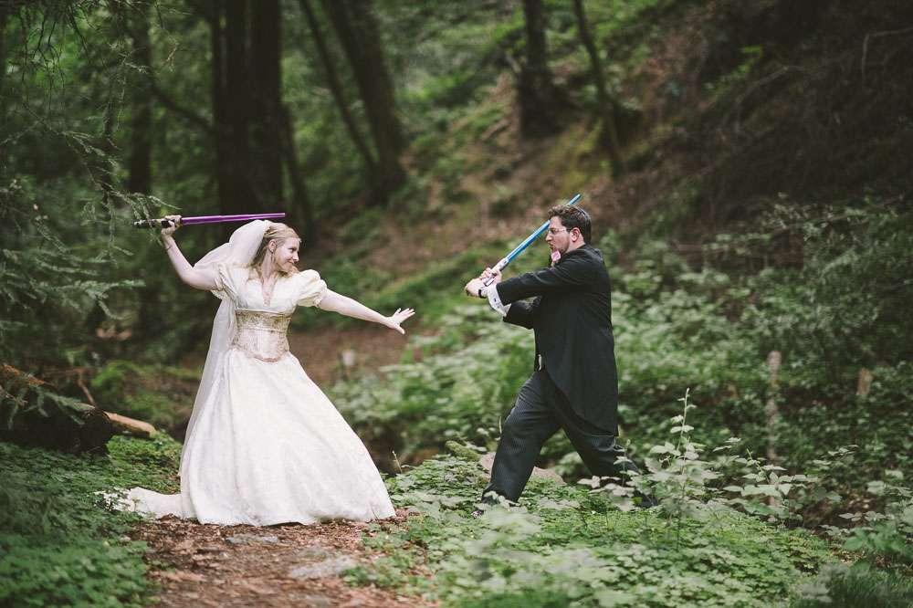 Geeky Renaissance Fair Wedding Gwenn Dave Rock N Roll Bride