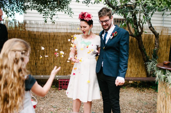 Matt & Moz Backyard Melbourne Wedding - johnjosephpossemato-262