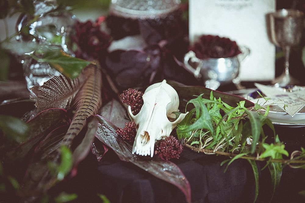 Voodoo and Pagan Witch Wedding Shoot · Rock n Roll Bride