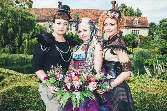 Steam Punk Wedding Dress 88 Vintage Steam Punk Theme Ross