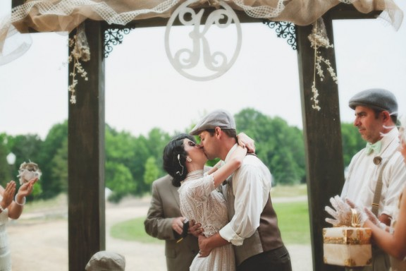 1920s Themed Wedding In South Carolina Heather Jeremy Rock N