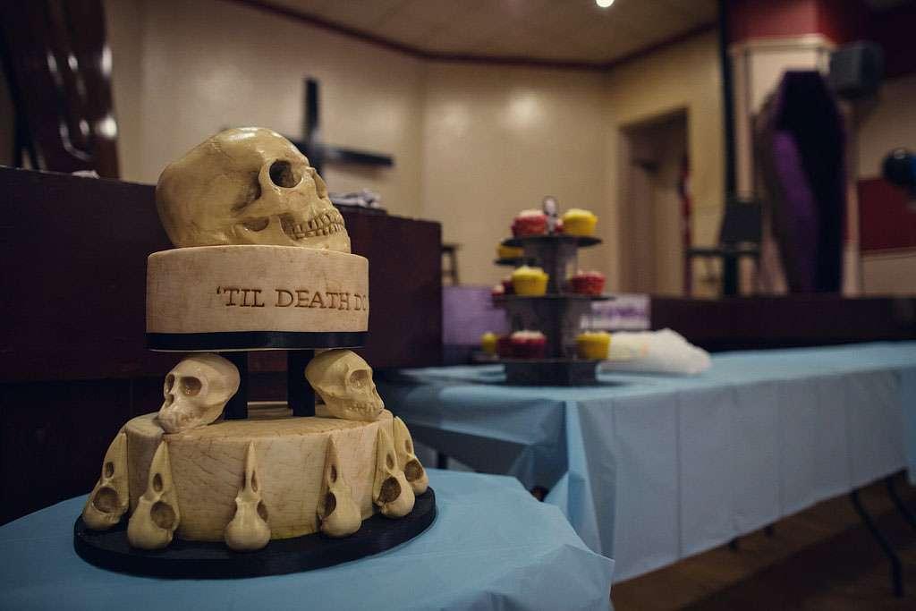 A Corpse Bride Wedding: Steph & Lee · Rock n Roll Bride