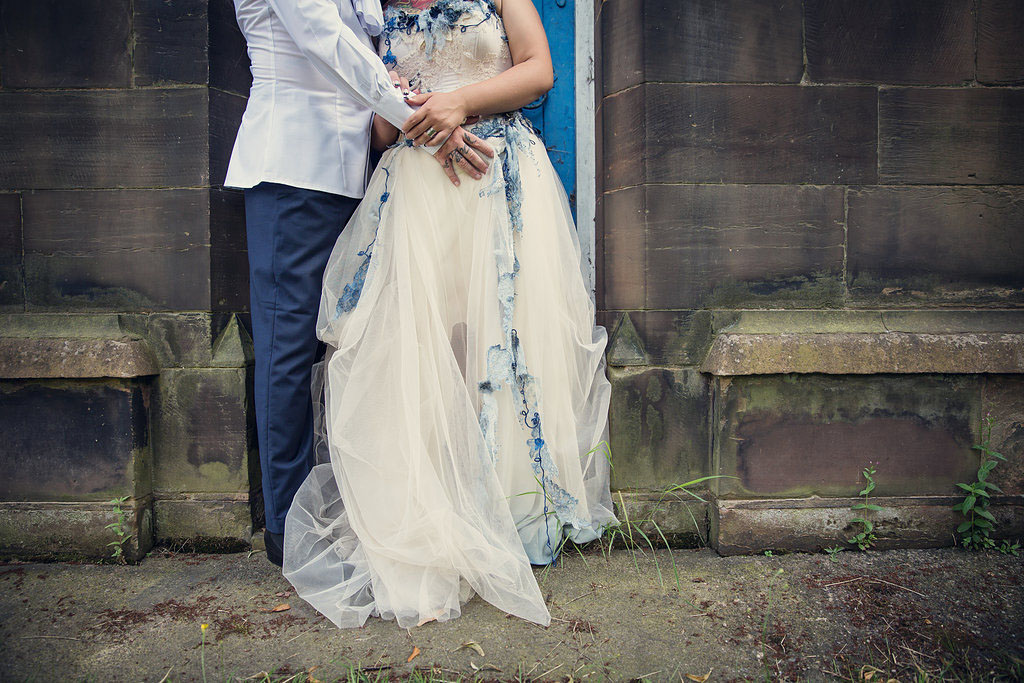 Corpse Bride Wedding Gown: A Corpse Bride Wedding: Steph & Lee · Rock N Roll Bride