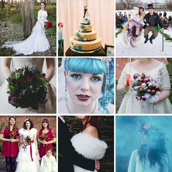 15 Unique Ideas for Winter Weddings · Rock n Roll Bride