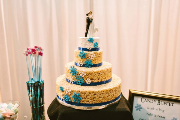 rice krispie wedding cake photos 15 unique ideas for winter weddings 183 rock n roll 19222