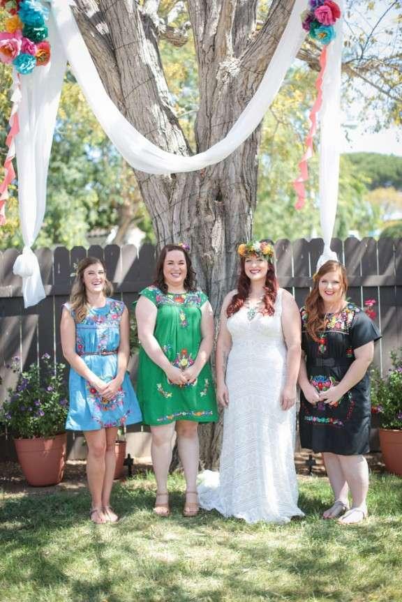 A Boho, Hippie, Mexicali Garden Wedding: Kelli and Chris ...