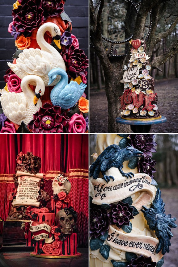 WIN Your Dream Wedding Cake From Choccywoccydoodah Rock N Roll Bride