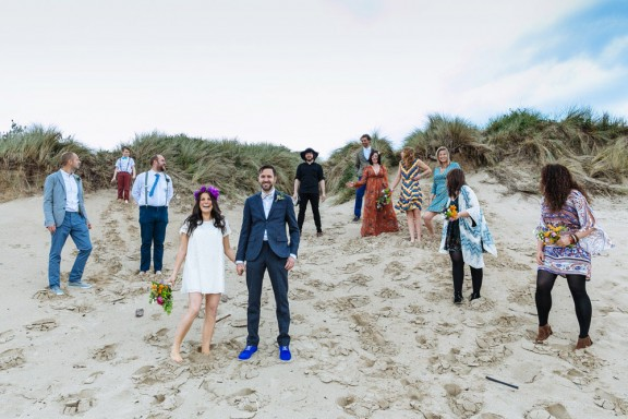 DIY family Anglesey beach wedding - Nick Tucker - 052