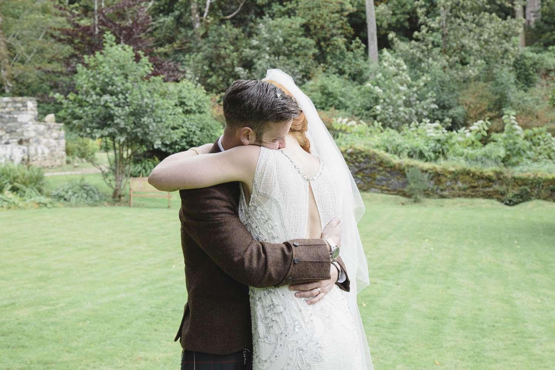 Skulls And Scotland Themed Wedding Rosie Amp Colin Rock N