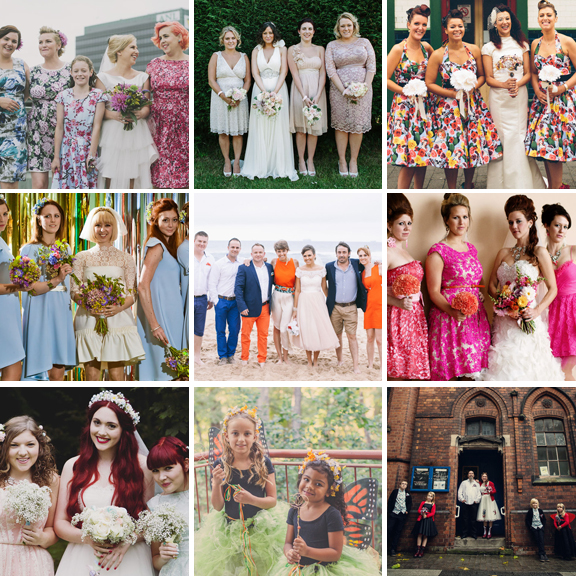 alternative bridesmaid outfit ideas