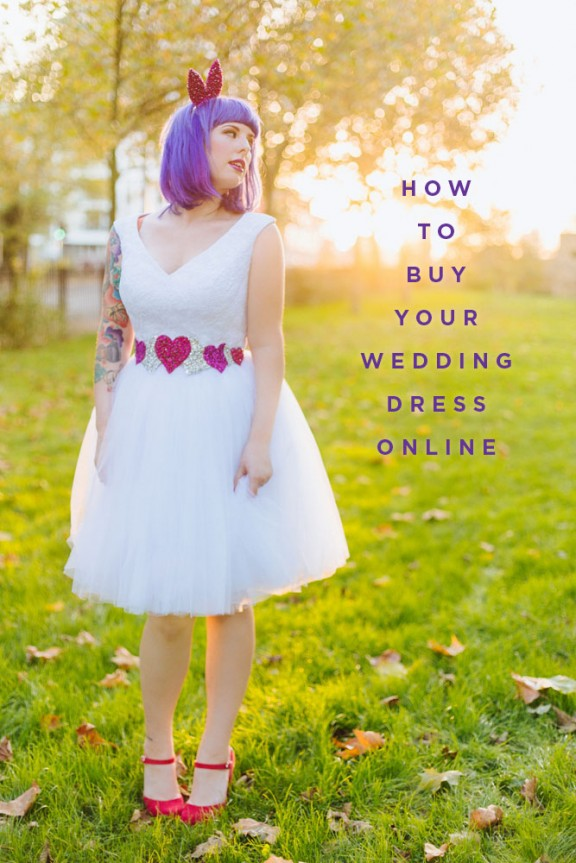 how to buy your wedding dress online