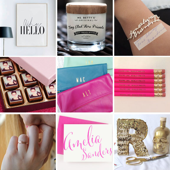 personalised christmas gifts for girls
