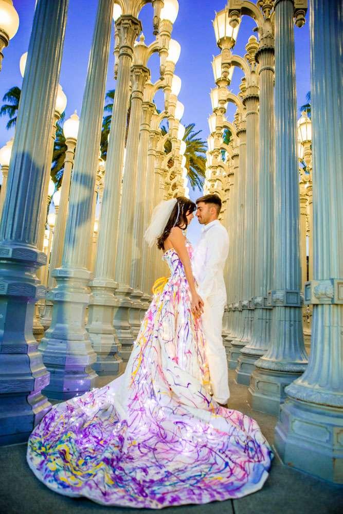Unique Colored Wedding Dresses 43 Beautiful LED LOVE Laura Grier