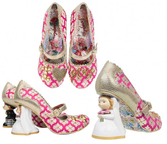 bride and groom irregular choice shoes_rocknrollbride.com