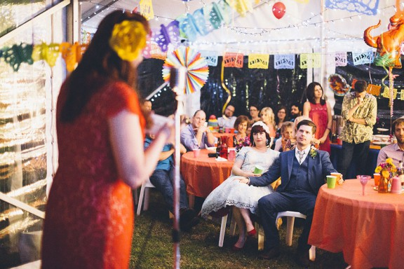 Non Traditional Wedding Dress Perth: Colourful Mexican Inspired Wedding In Perth · Rock N Roll