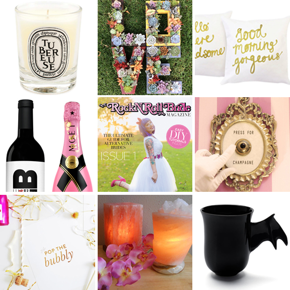 unique engagement gifts for alternative weddings