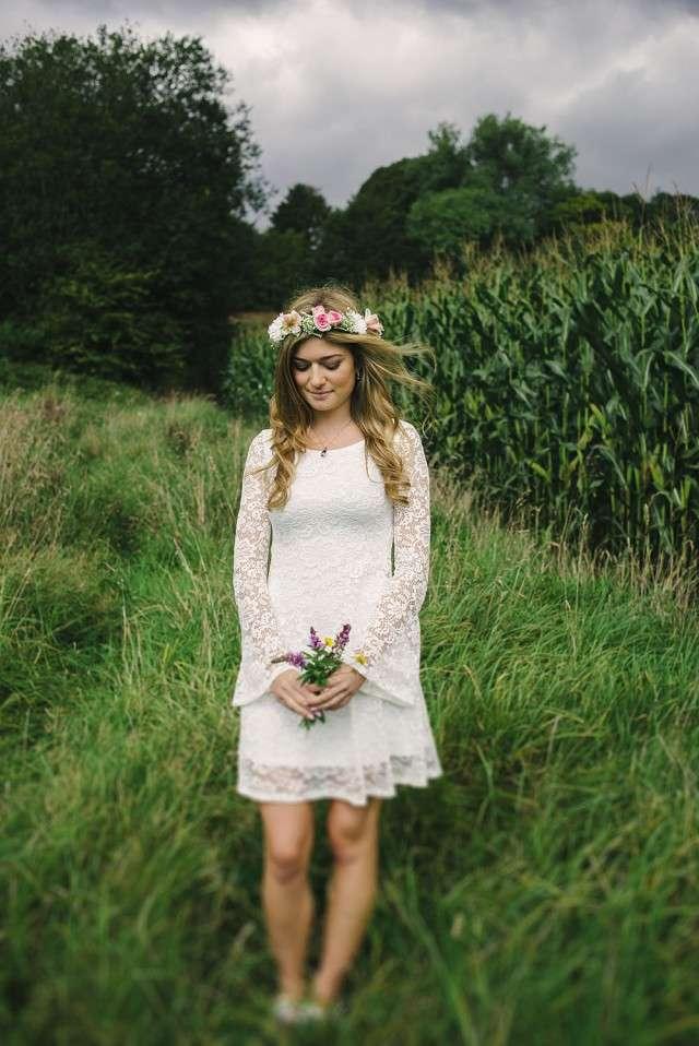 Pretty Boho Picnic Wedding In Belgium Rock N Roll Bride