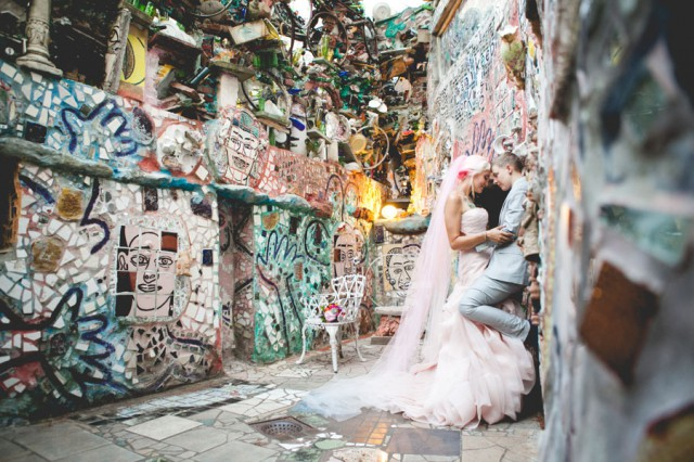 Philadelphia Magic Gardens trans wedding (43)