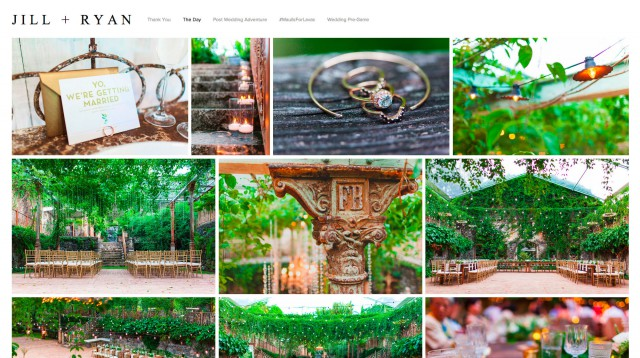 Start Your Own 'Wed-Site' with Squarespace3