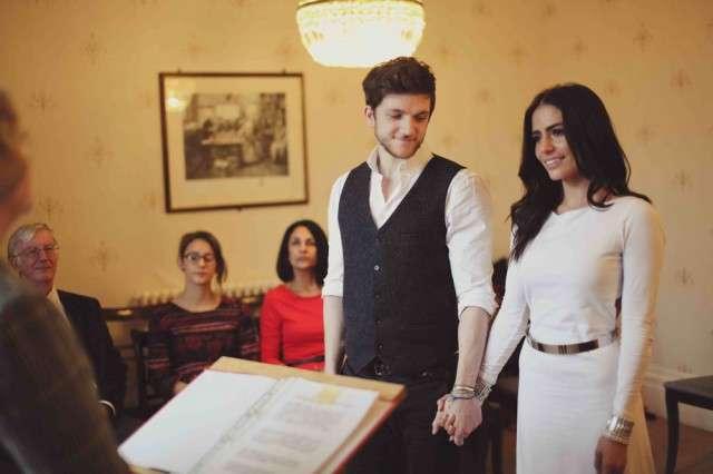 Casual Homespun Wedding Of Tv Presenter Layla Anna Lee