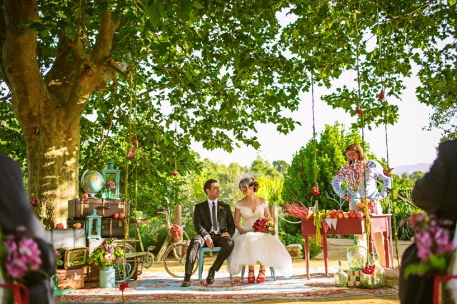 colourful spanish orchard wedding (14)