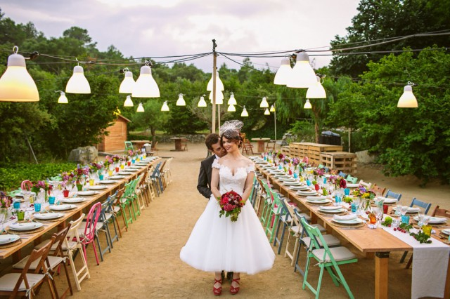 colourful spanish orchard wedding (30)