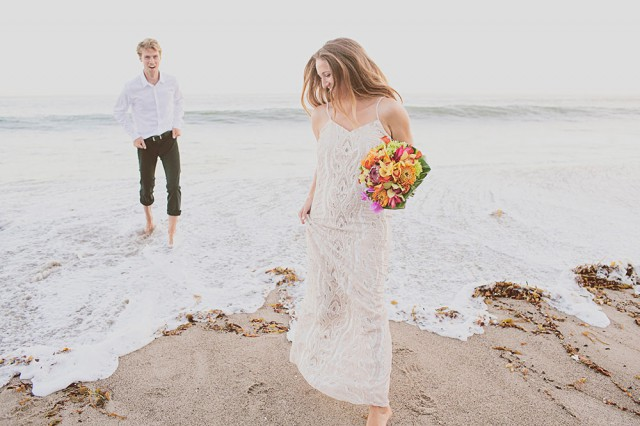 modern Malibu beach wedding24