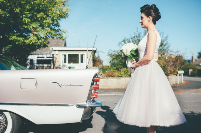 relaxed 1950s retro wedding (4)