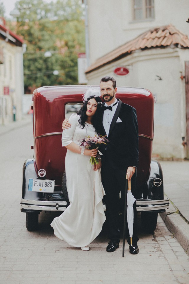 1920s Jazz Inspired Wedding In Lithuania Rock N Roll Bride