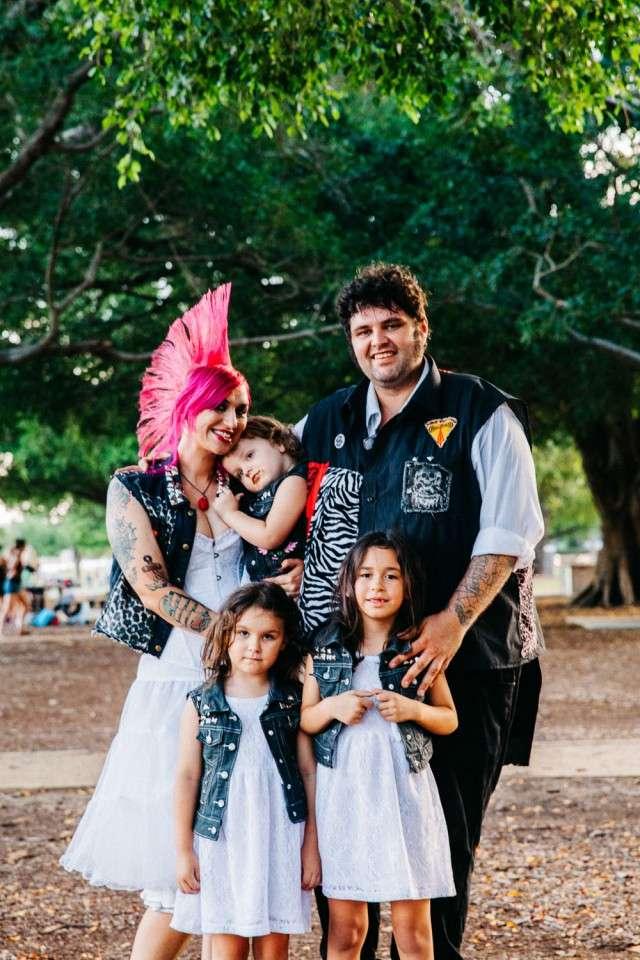The Punk Wedding To End All Weddings Rock N Roll Bride