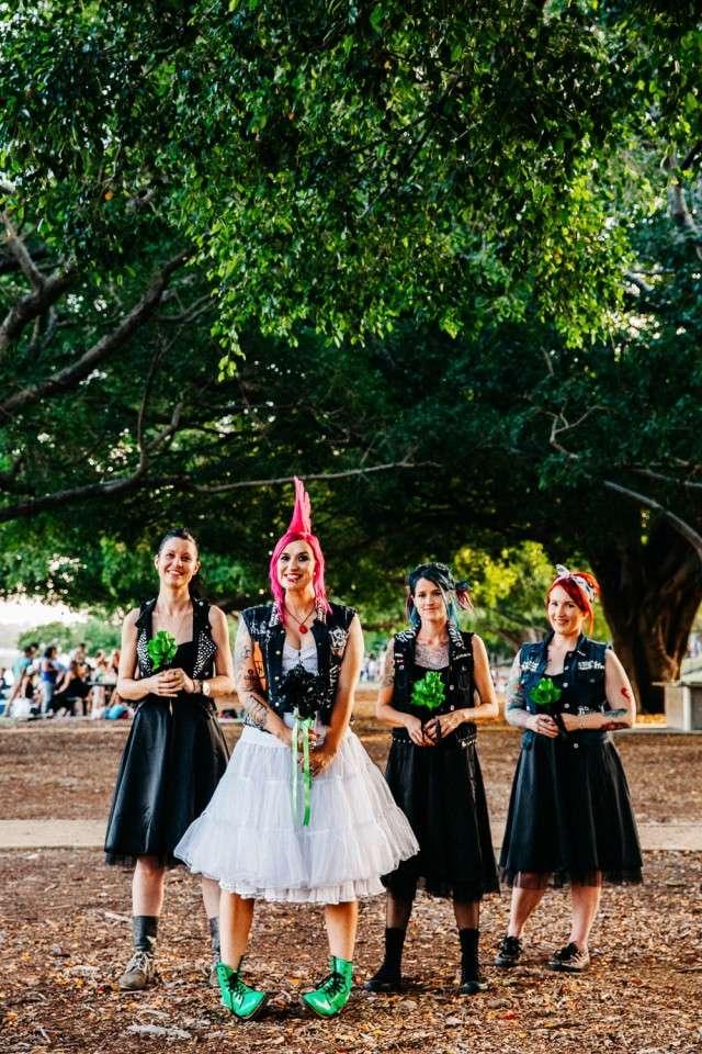 The Punk Wedding to End All Punk Weddings · Rock n Roll Bride