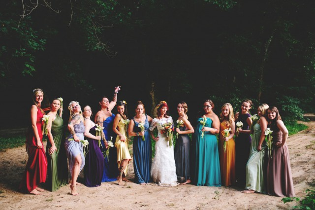 Barefoot Hippie River Wedding - Shots by Cheyenne (81)