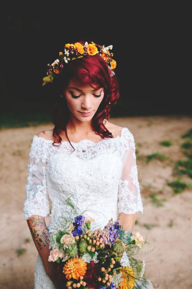 Wedding Gift Ideas For Hippies : Barefoot Hippie River WeddingShots by Cheyenne (86)