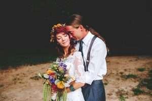 Barefoot Bohemian Hippie Wedding