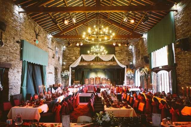 Medieval Banquet Wedding Rock N Roll Bride