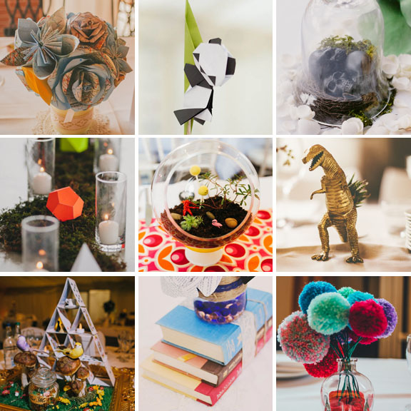 30 non traditional non floral centrepiece ideas for your 30 non traditional non floral centrepiece ideas for your alternative wedding junglespirit Image collections