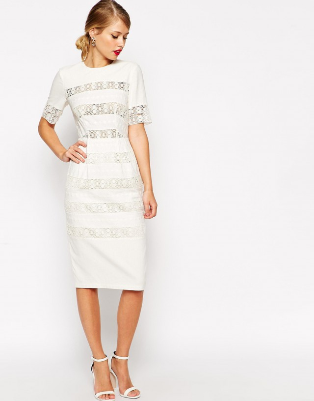 ASOS-Wiggle-Dress-in-Linen-Crochet-Lace