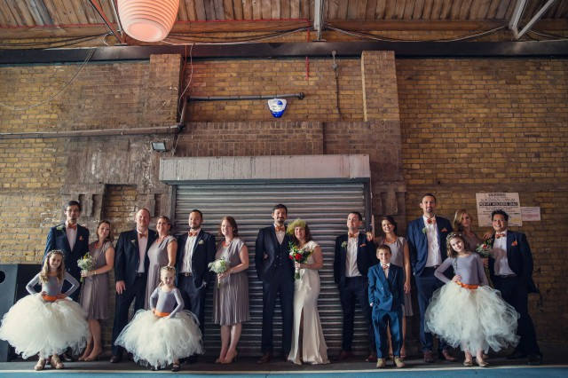 Indoor Festival Wedding at an Industrial Warehouse (21)
